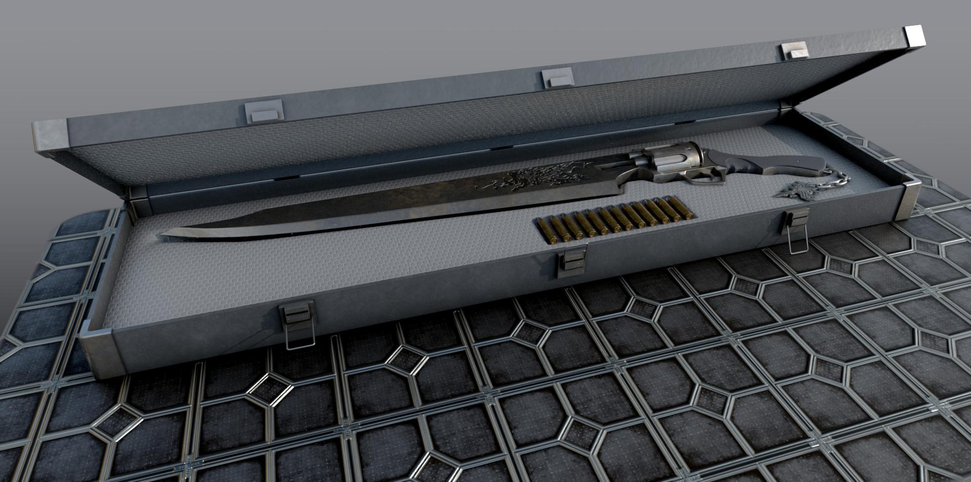 Alex meister gunblade223