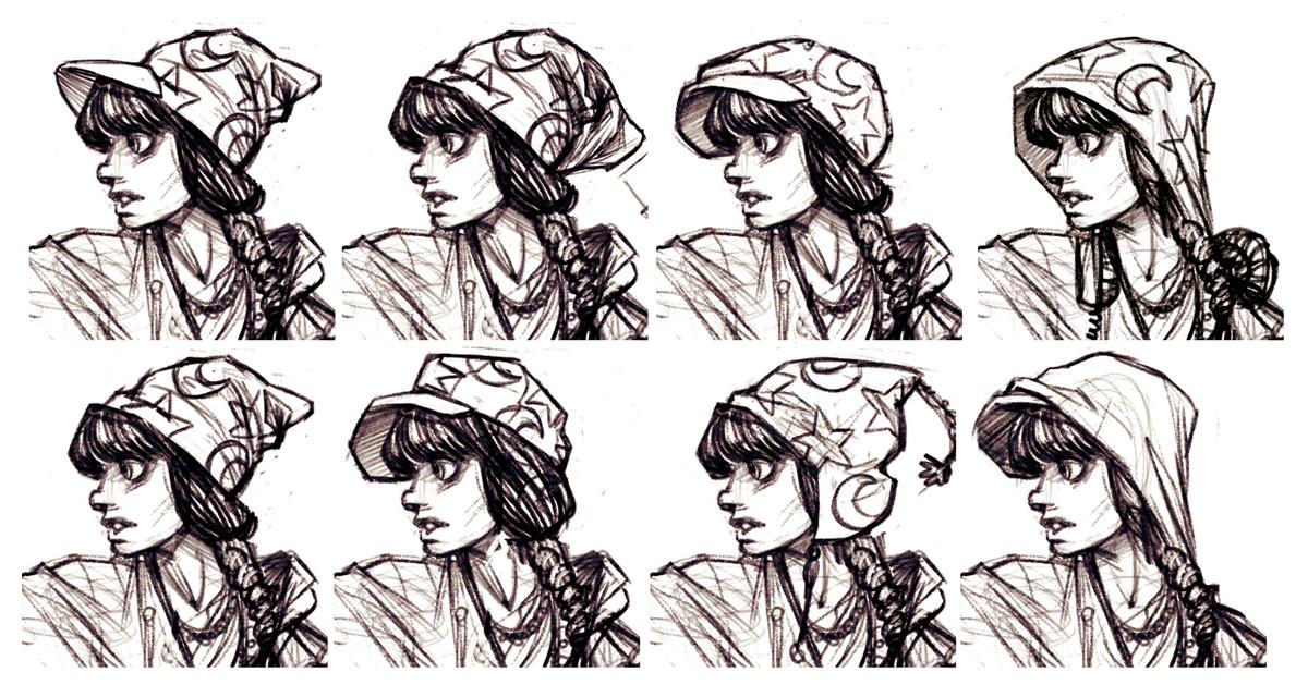 Shawn witt hat variations
