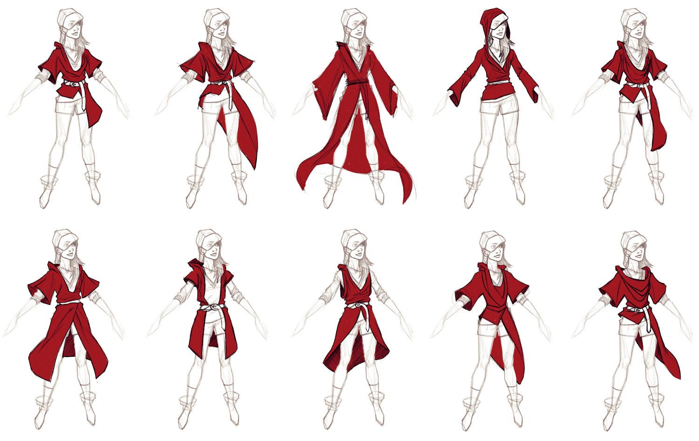Shawn witt robe variations