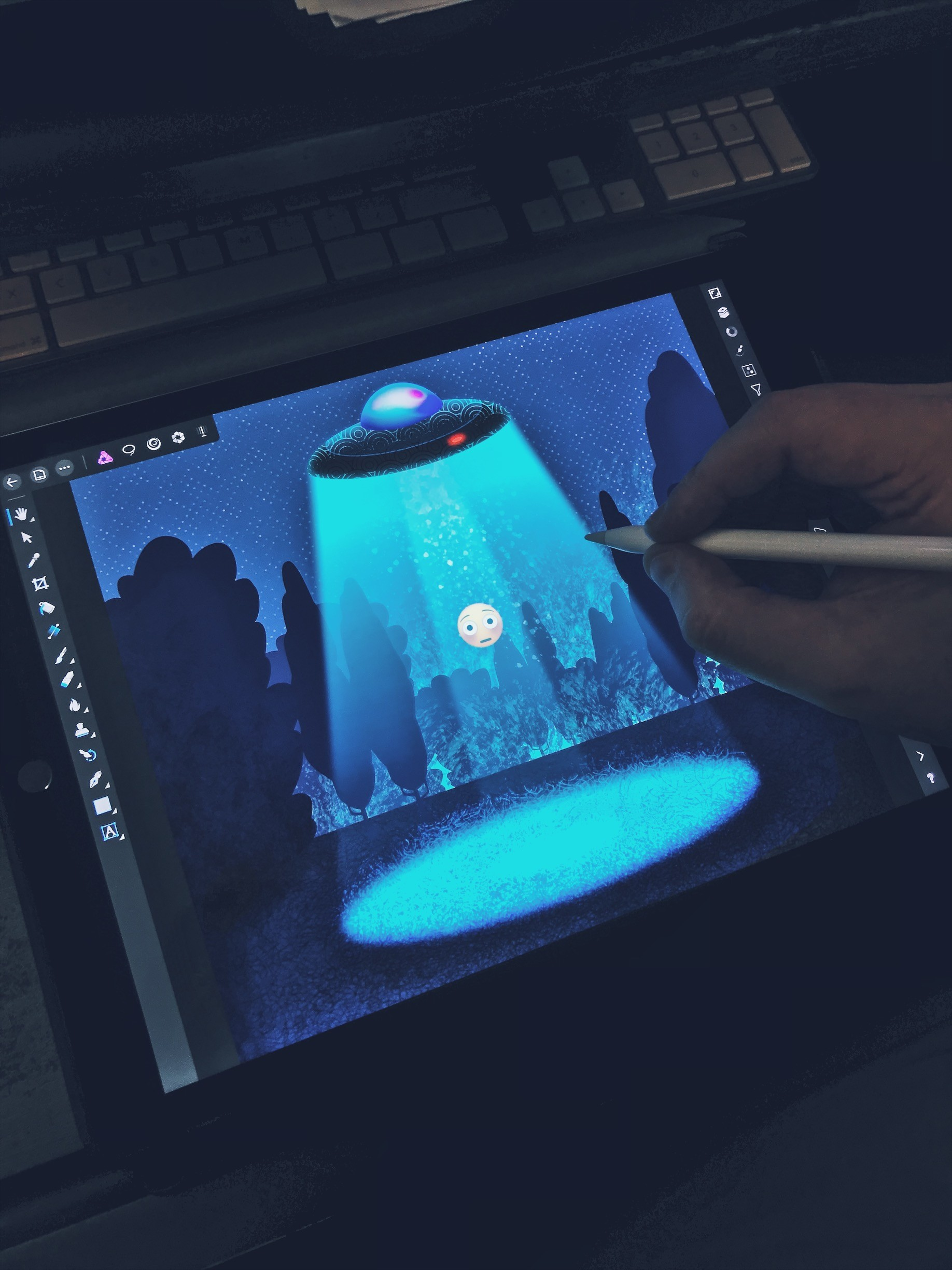 iPad Pro and Affinity Photo