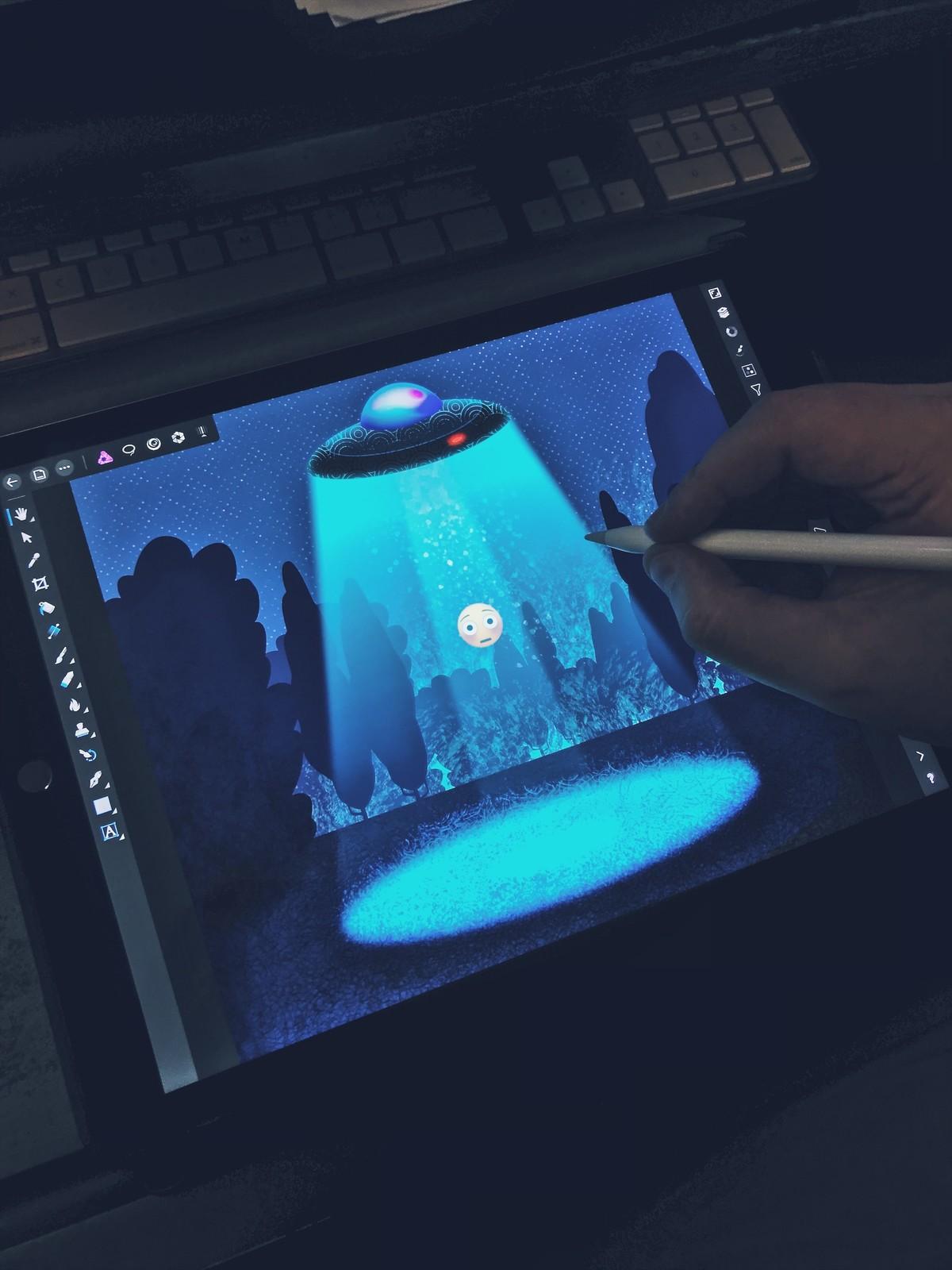 iPad Pro and Affinity Photo