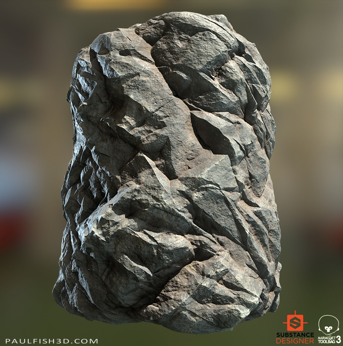 Substance Designer - Cliff Stone