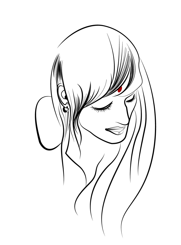 Third-Hair Detail