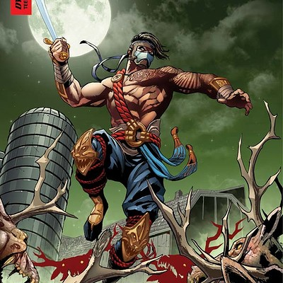 Cam adams killerinstinct 2 cover camadamscolors