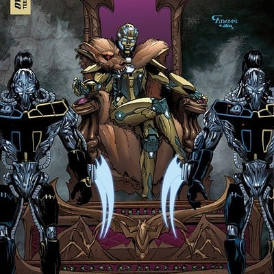 Cam adams killerinstinct 5 cover camadamscolors