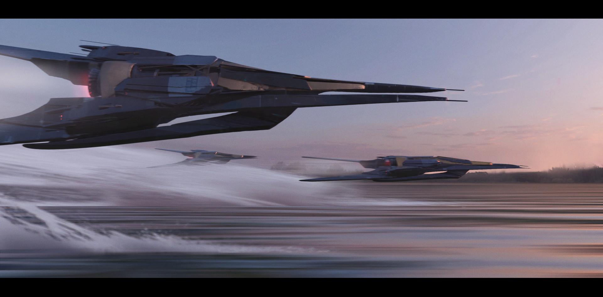 Jx saber spaceship 2