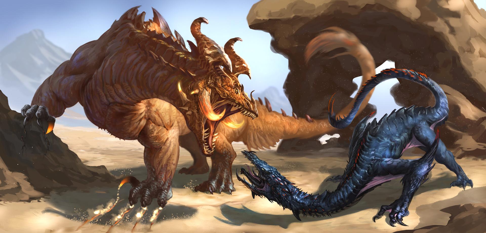 Earth Dragon: Earth Dragon Versus Deathstalker By Dave Melvin