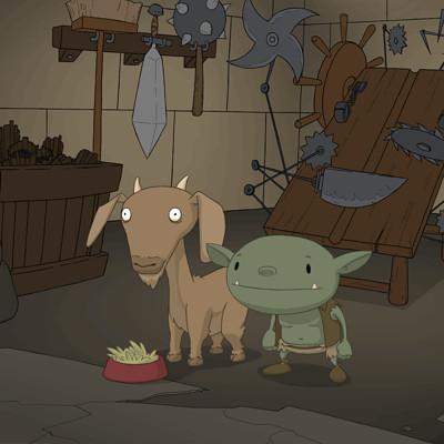 Nick noah 4008 goat idle