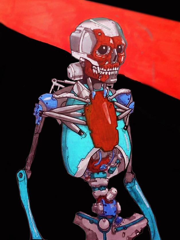 Alejandro gorgal skelirobot