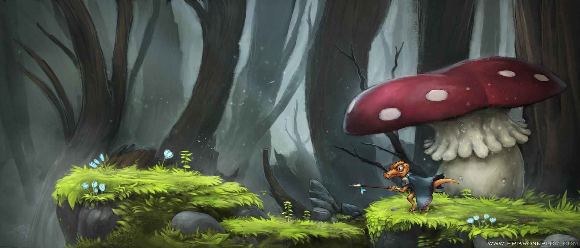 Erik ronnblom mushroom erikronnblom