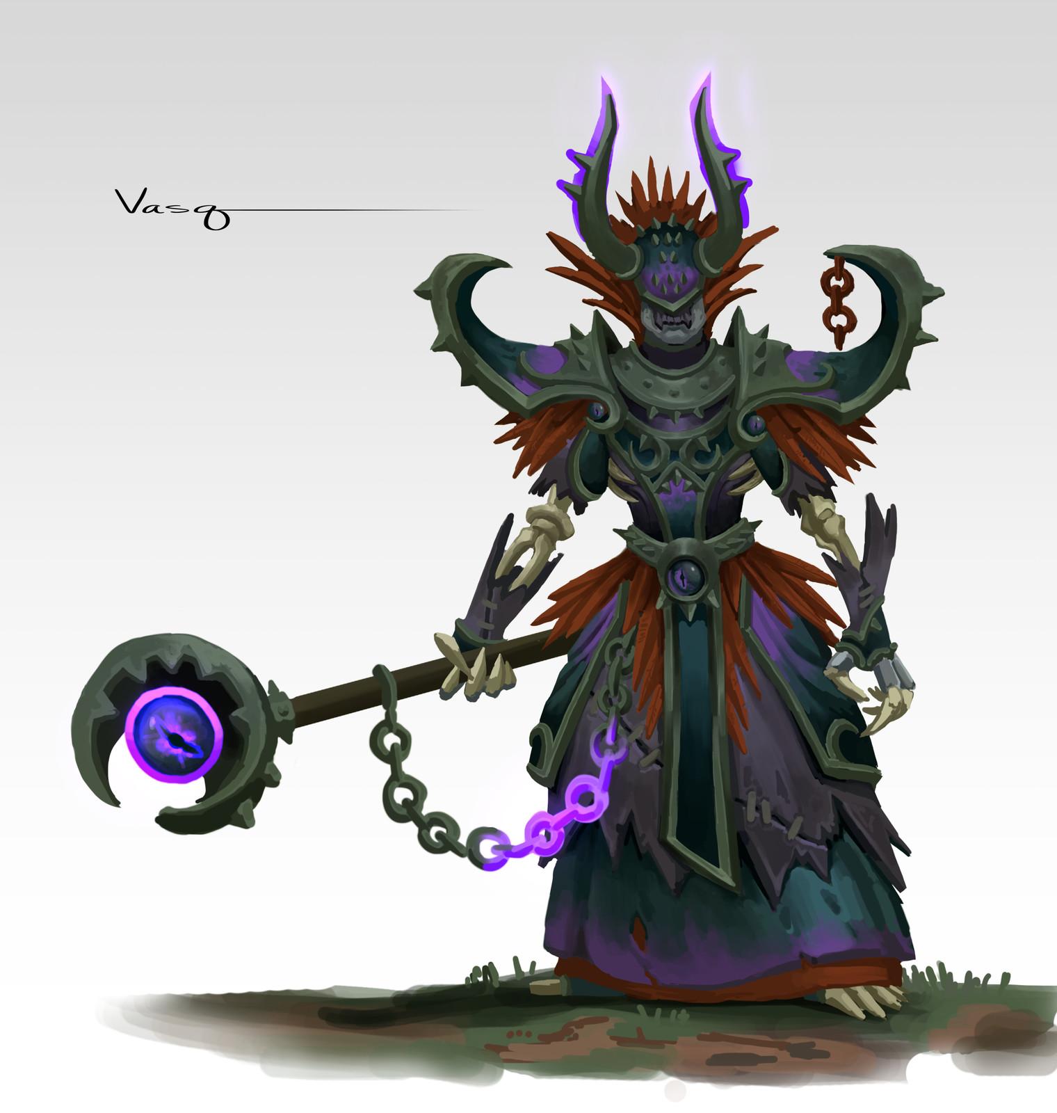 Undead Warlock Set