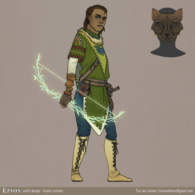 Tiia van lokven archer5