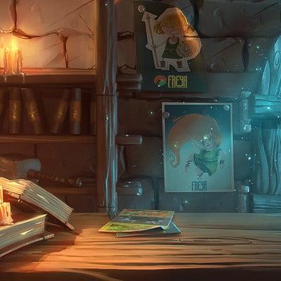 Freya game illustration 04