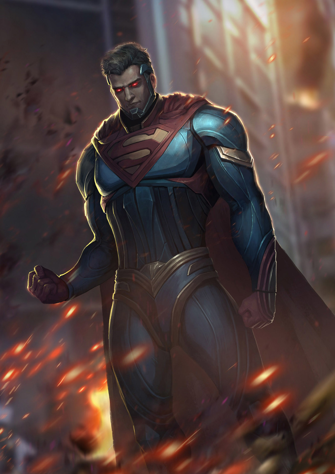 XIAOCHEN LI  Injustice LeagueSuperman