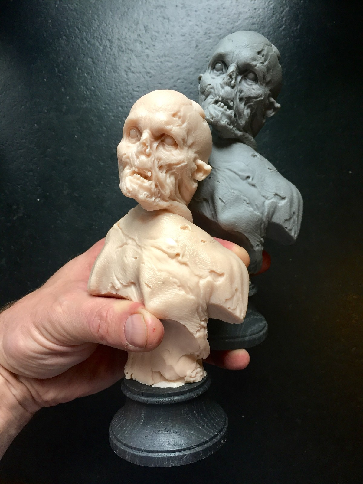 Zombies/cast resin