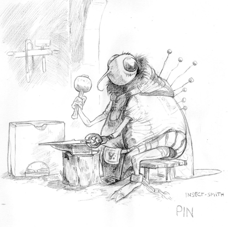Pin, the smith
