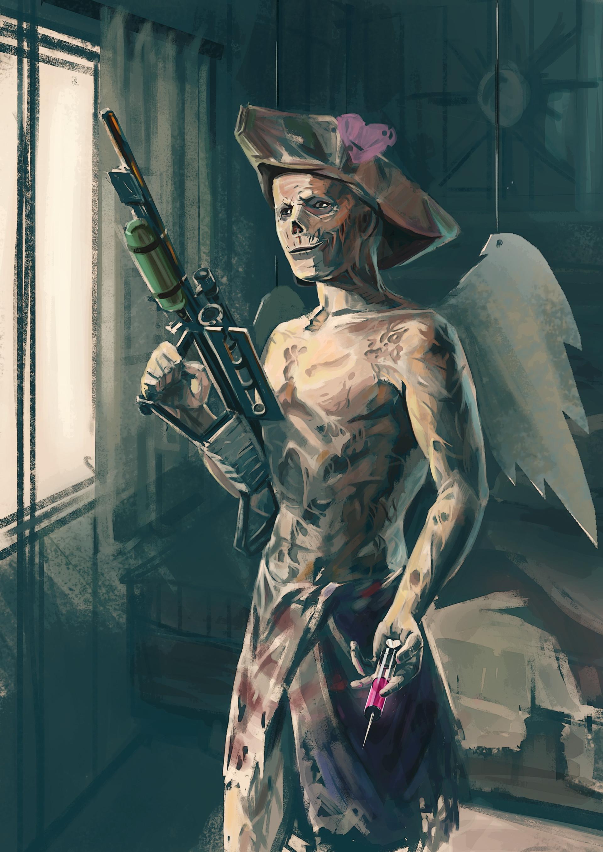 Artstation Fallout 4 Fanart Cupid In The Wasteland Julia