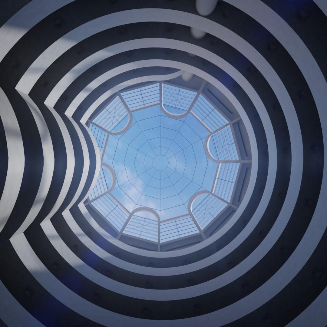 Guggenheim Museum - Original Render