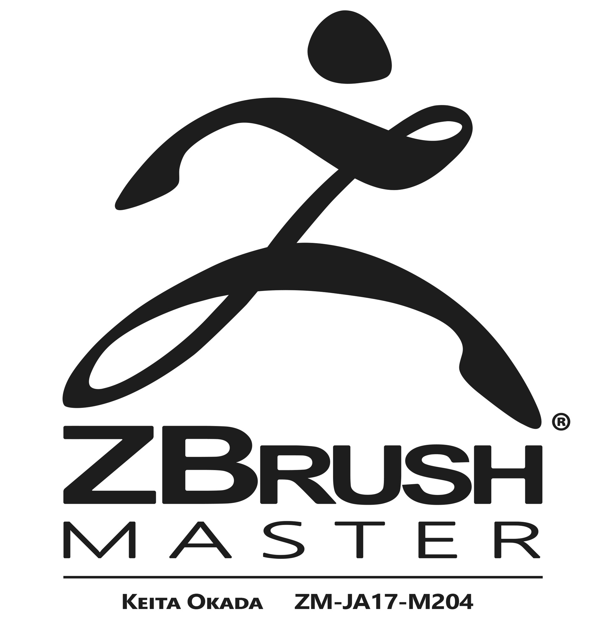 Keita okada zbrushmaster logo okada