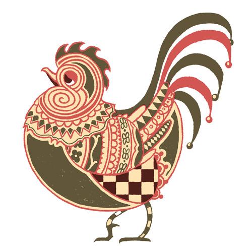 Tinctorium rooster