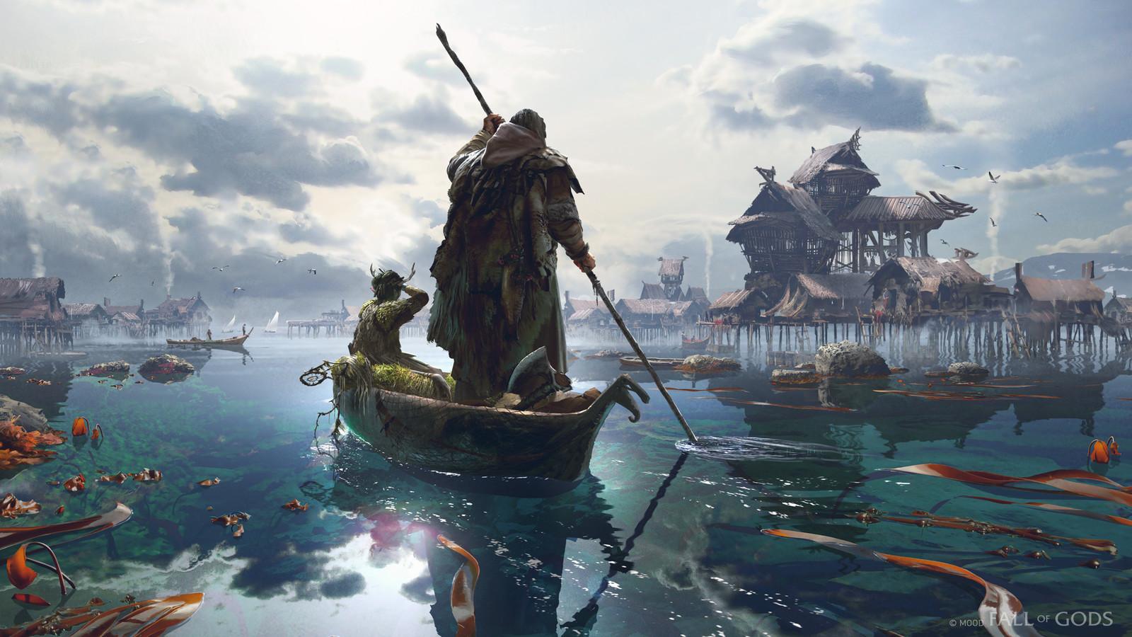 Fall Of Gods - Fishing Village