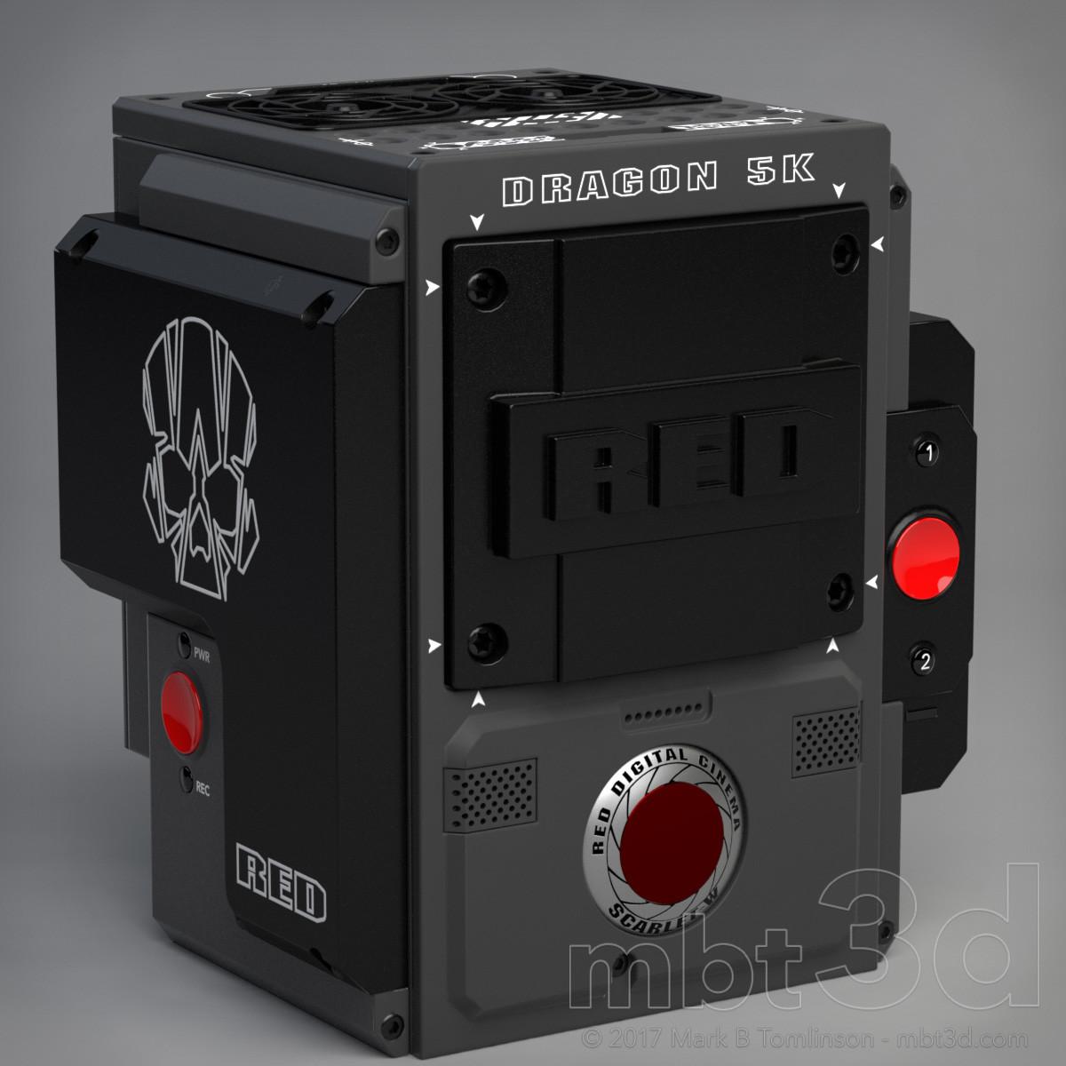 Box Five - Red Camera Dragon