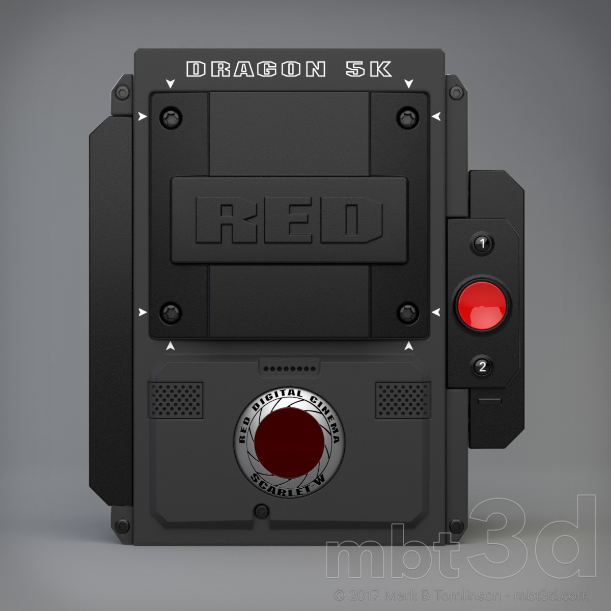 Box Five - Red Camera Dragon