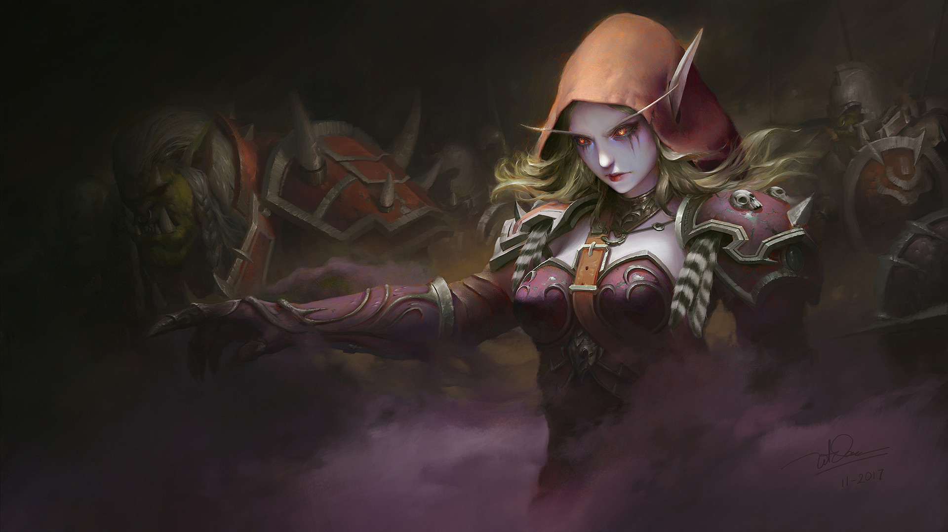Dao le trong windrunner