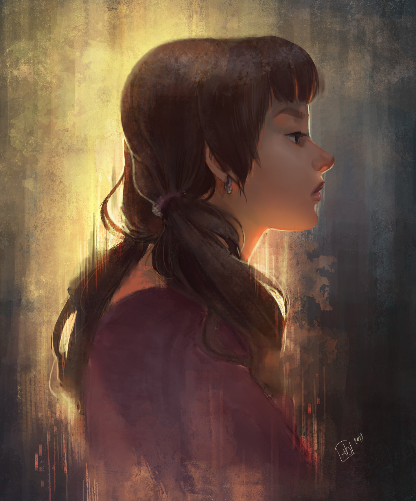 Annie doyon portrait girl 05 2017