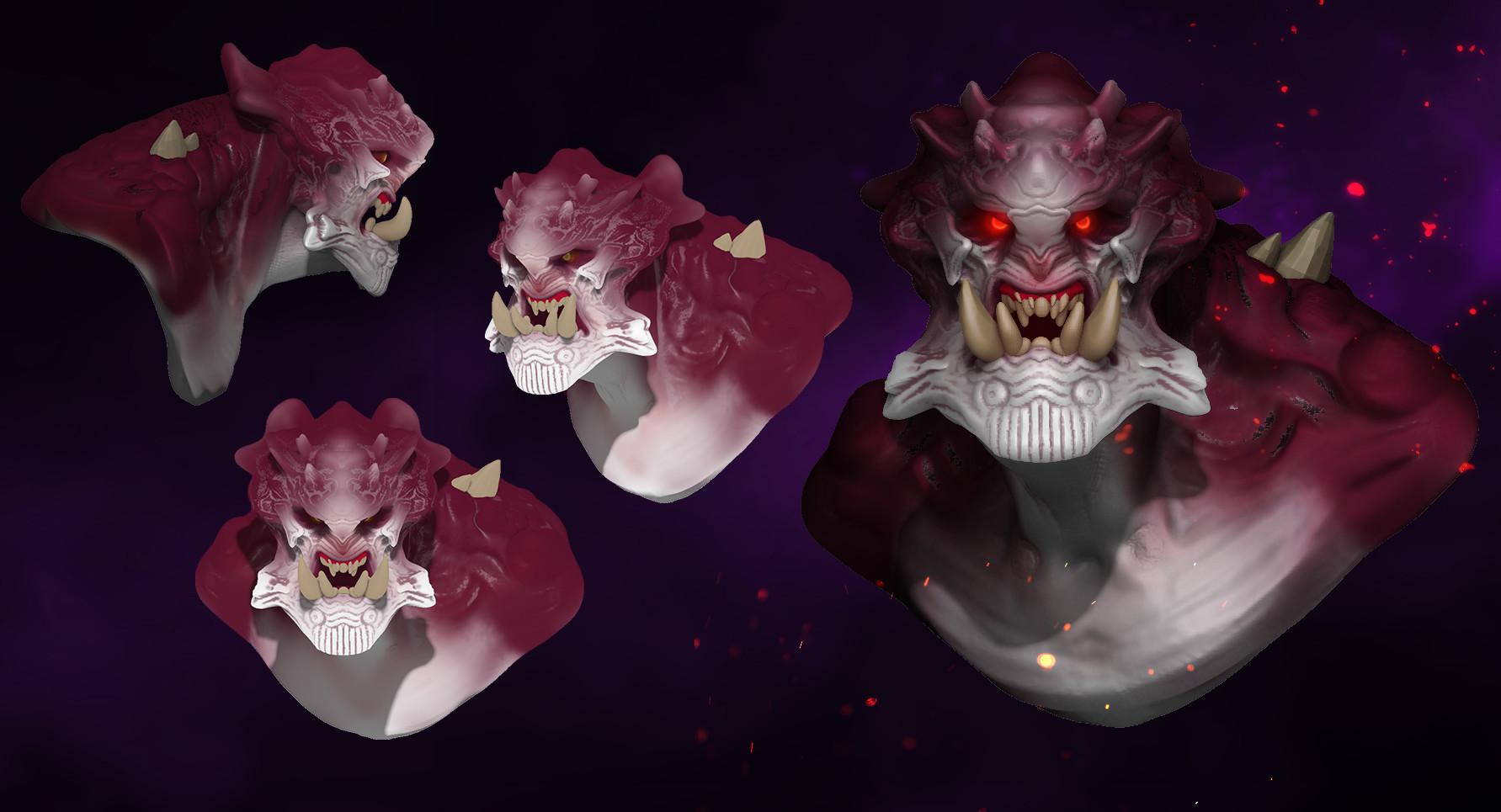 Dusko bjeljac demon zbrush