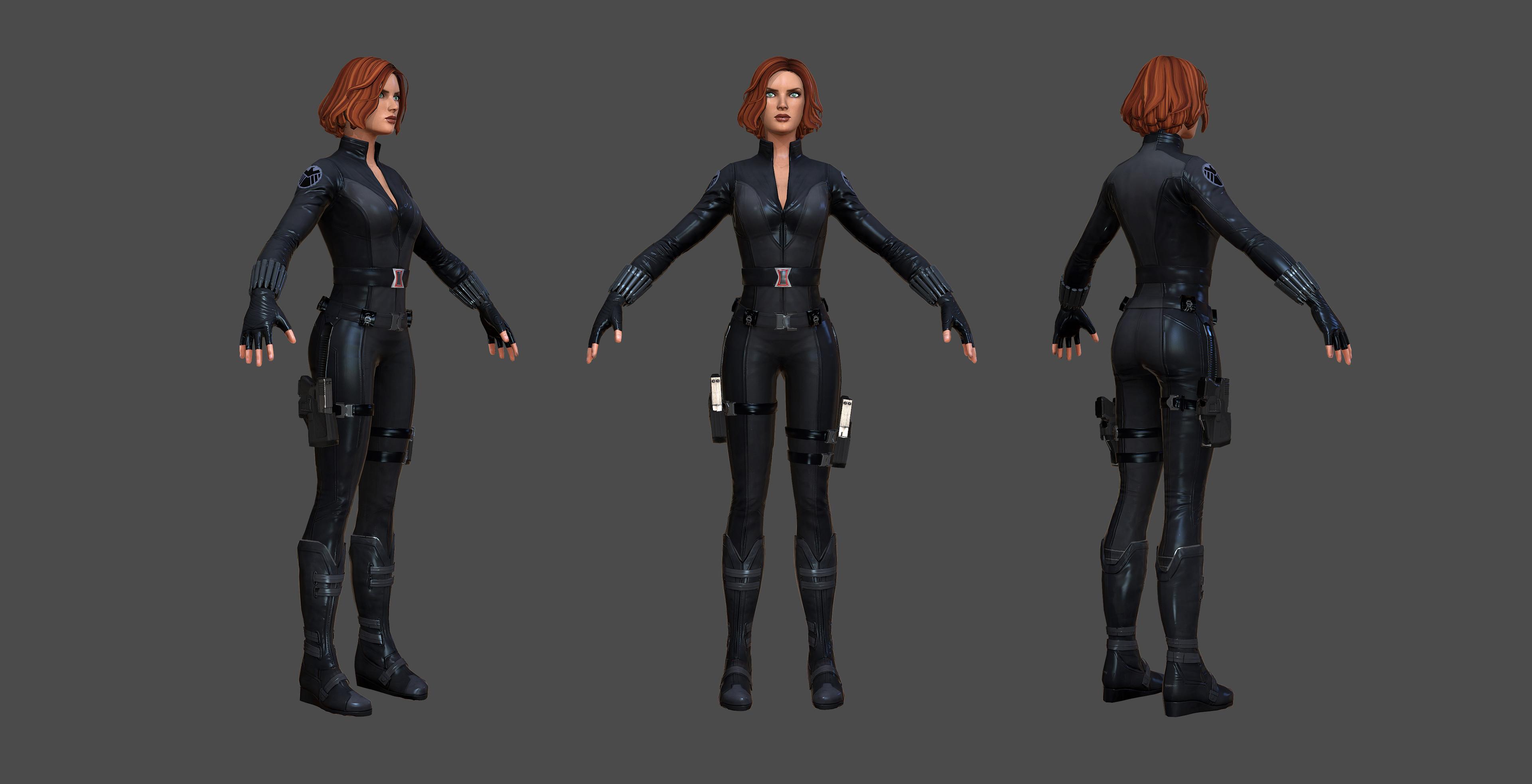 Avengers costume variant - Visual Update