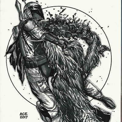 Ace continuado c2e2 chewbacca copy