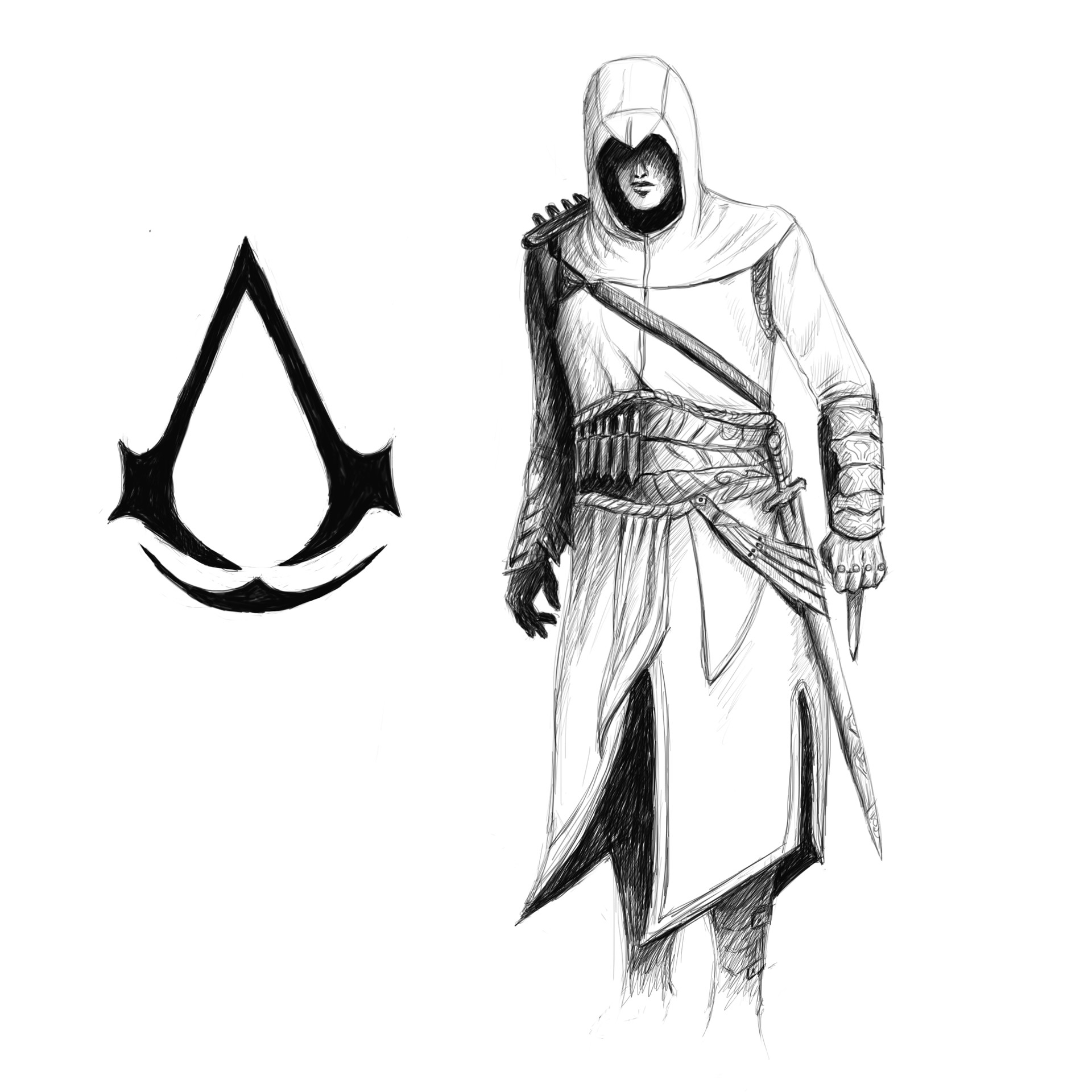Artstation Assassins Creed Altair Nilotpal Bagti