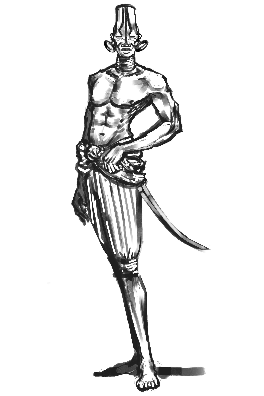 Denis aurelian mocanu african soul walker 1
