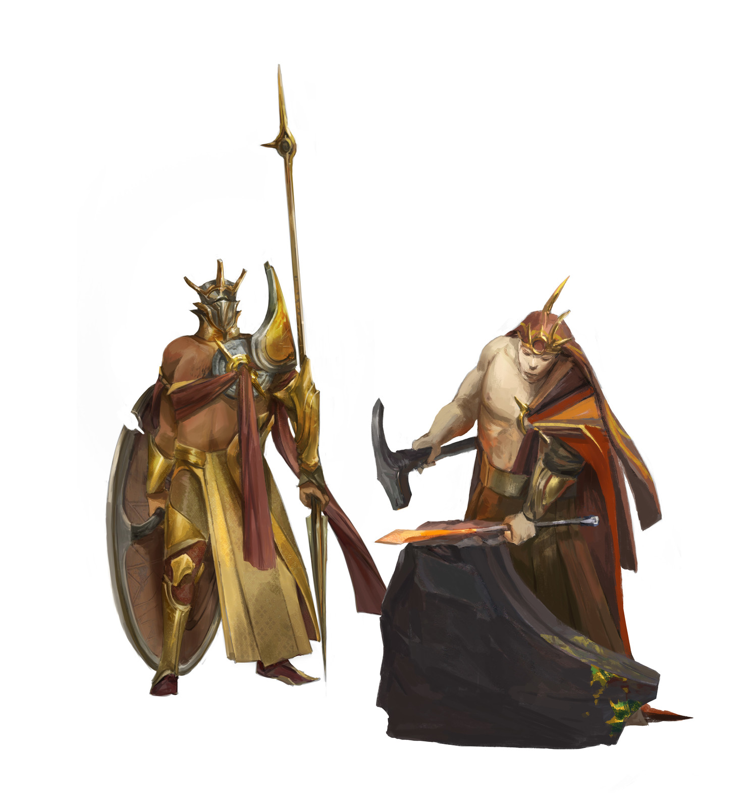 The Solari; the Ra'horak and the Forger