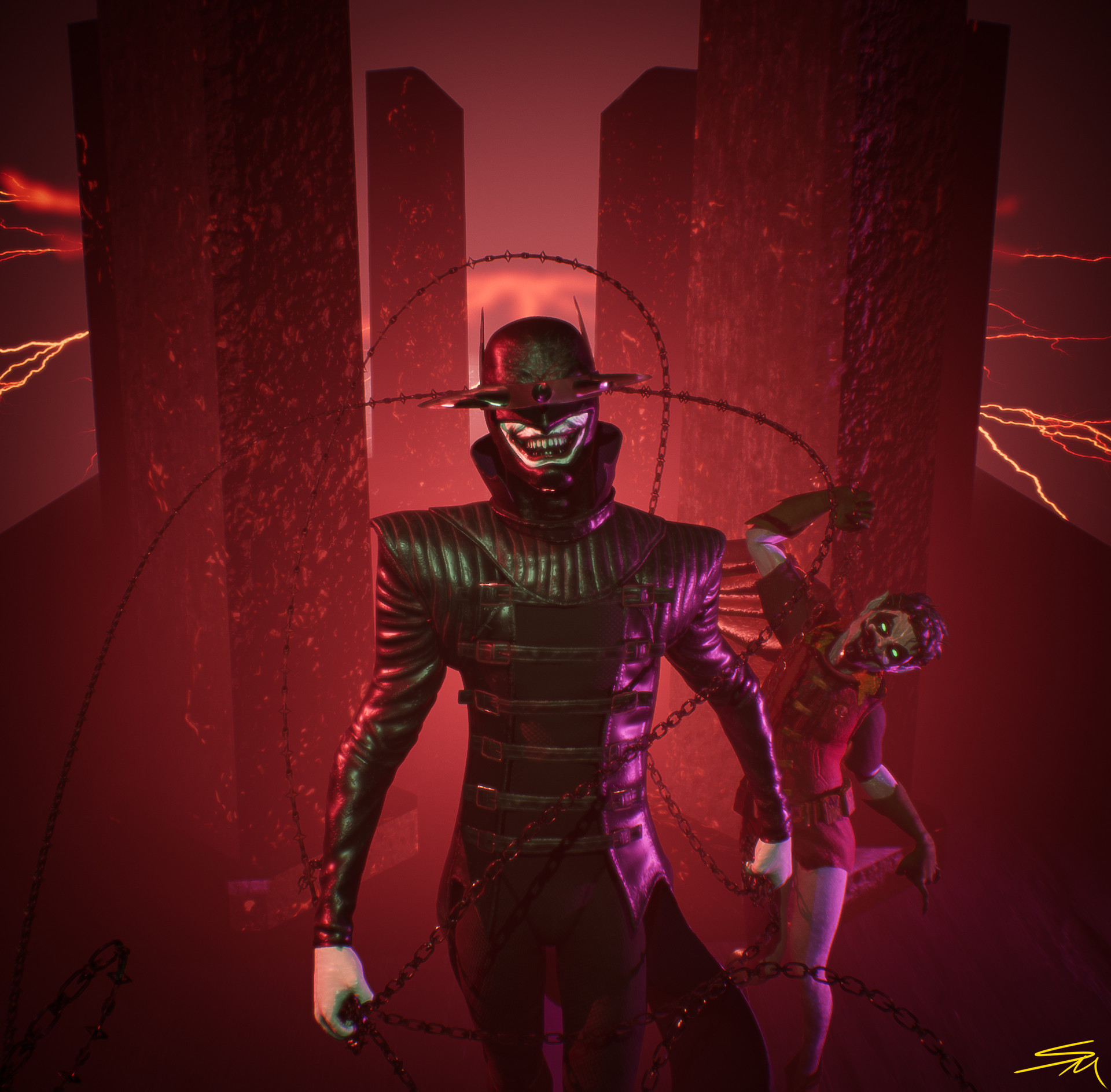 Artstation Dark Nights Metal The Batman Who Laughs Spicer Mcleroy