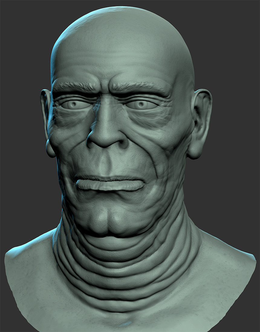 Another Mudbox sculpt...trying different tools and techniques.