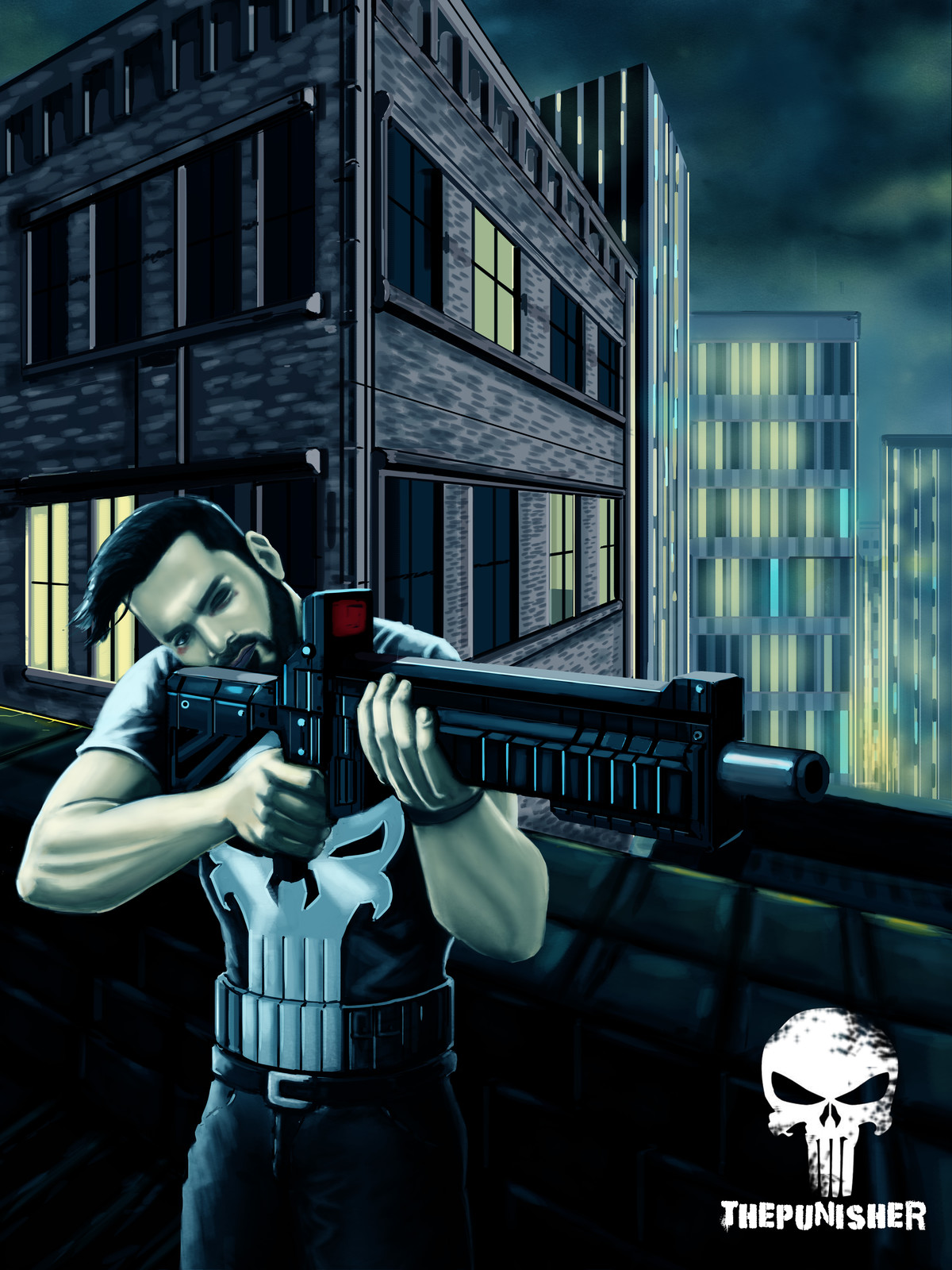 The Punisher  some fan art.
