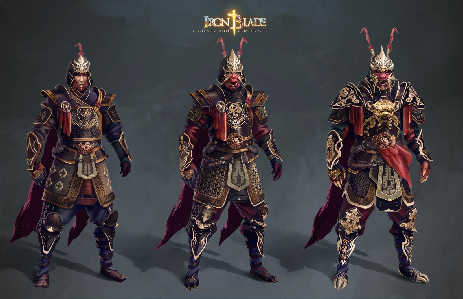 Monkey King armor set