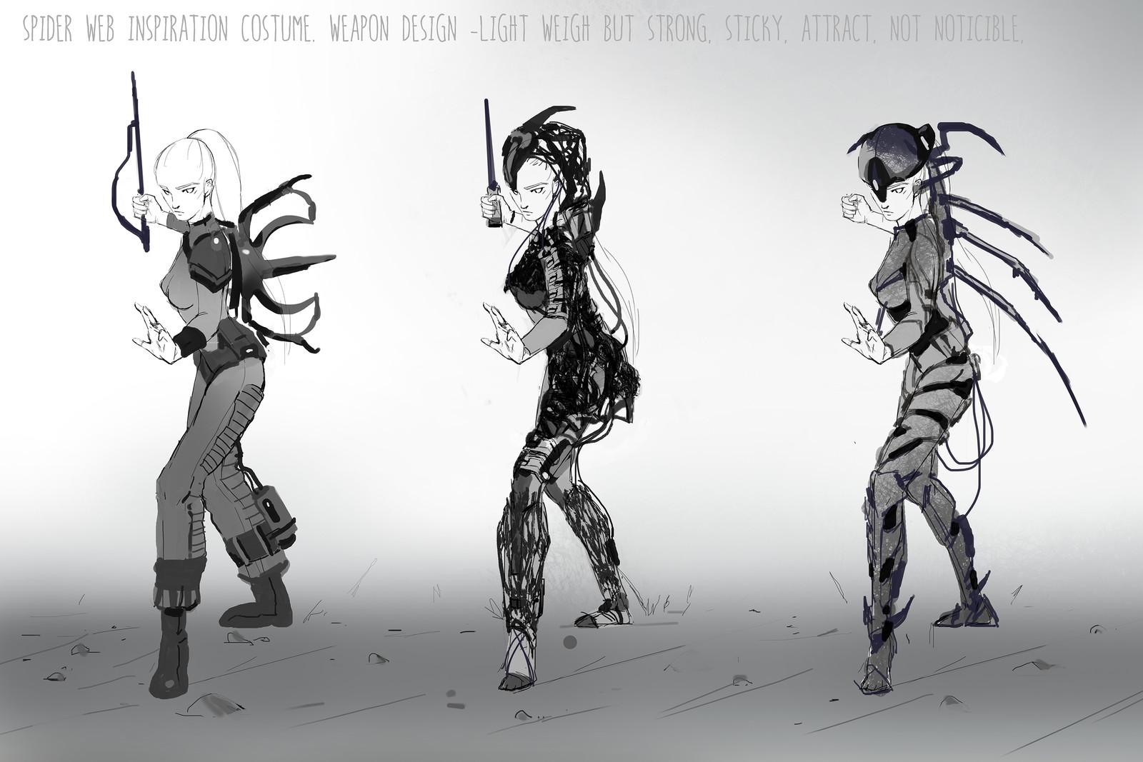 Idea sketches set 02