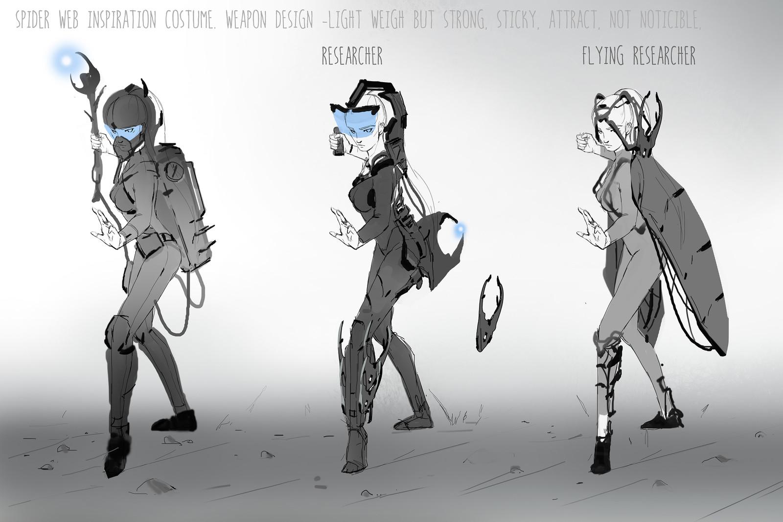 Idea sketches set 01