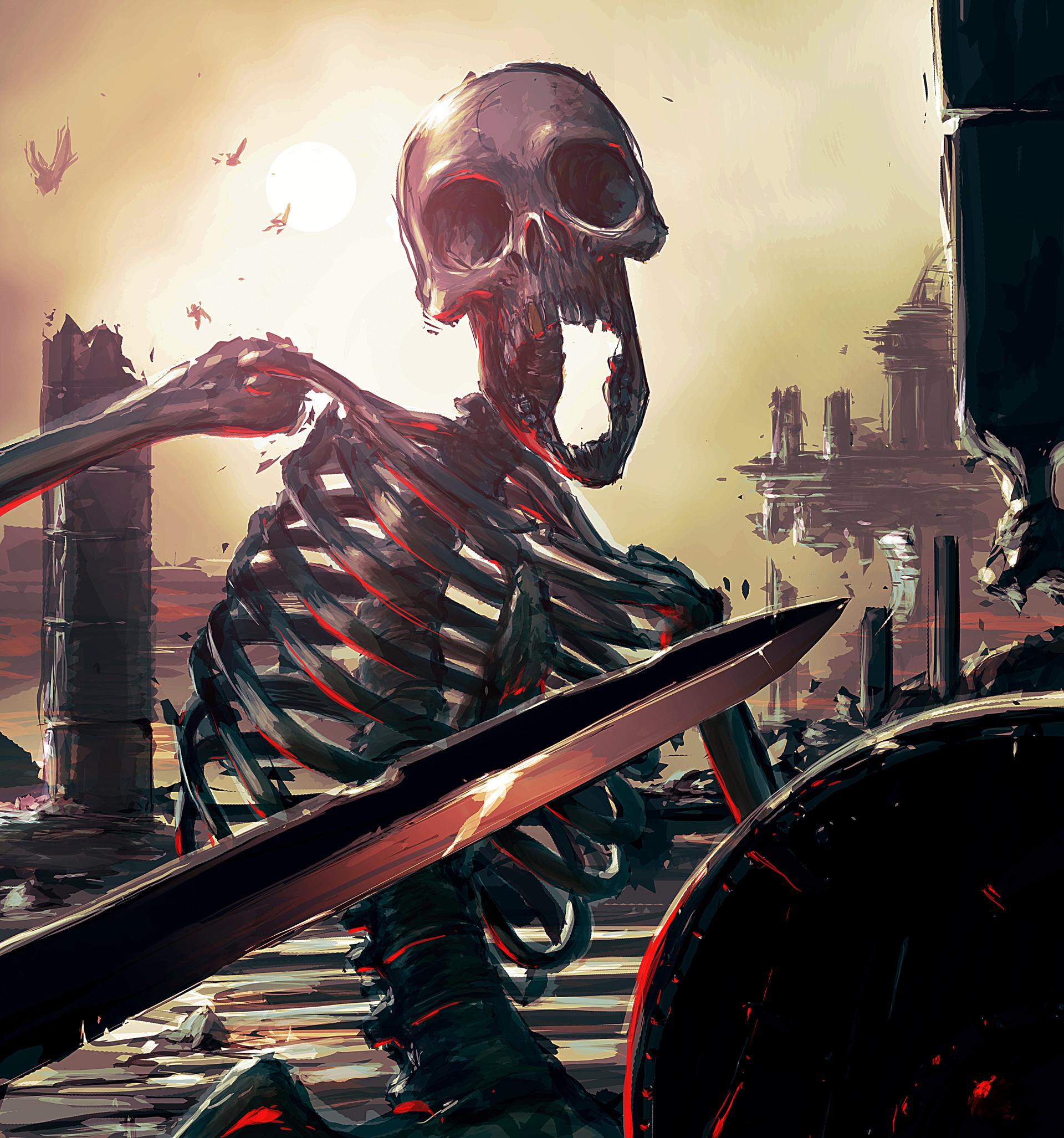 Fragoulis garoufalis skulls 001