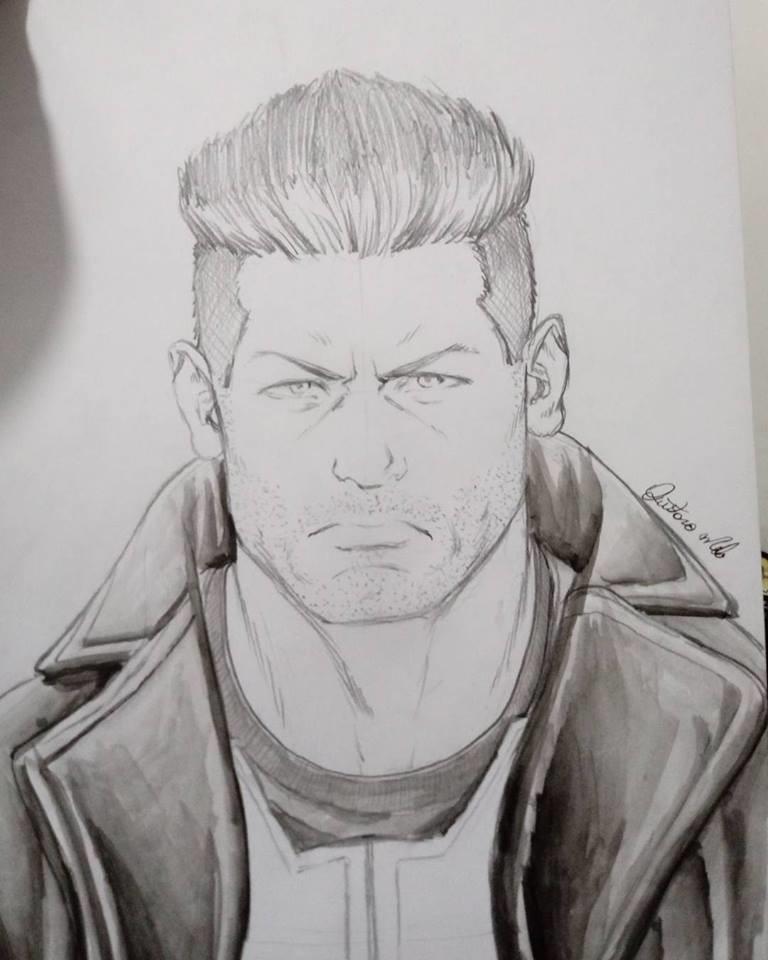 Gustavo melo sketch justiceiro