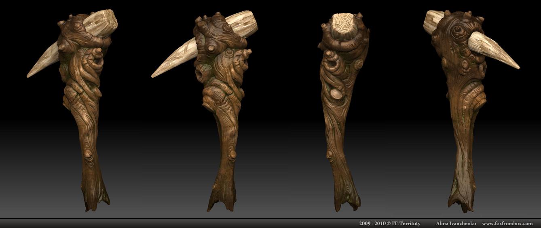 Swamp Troll weapon