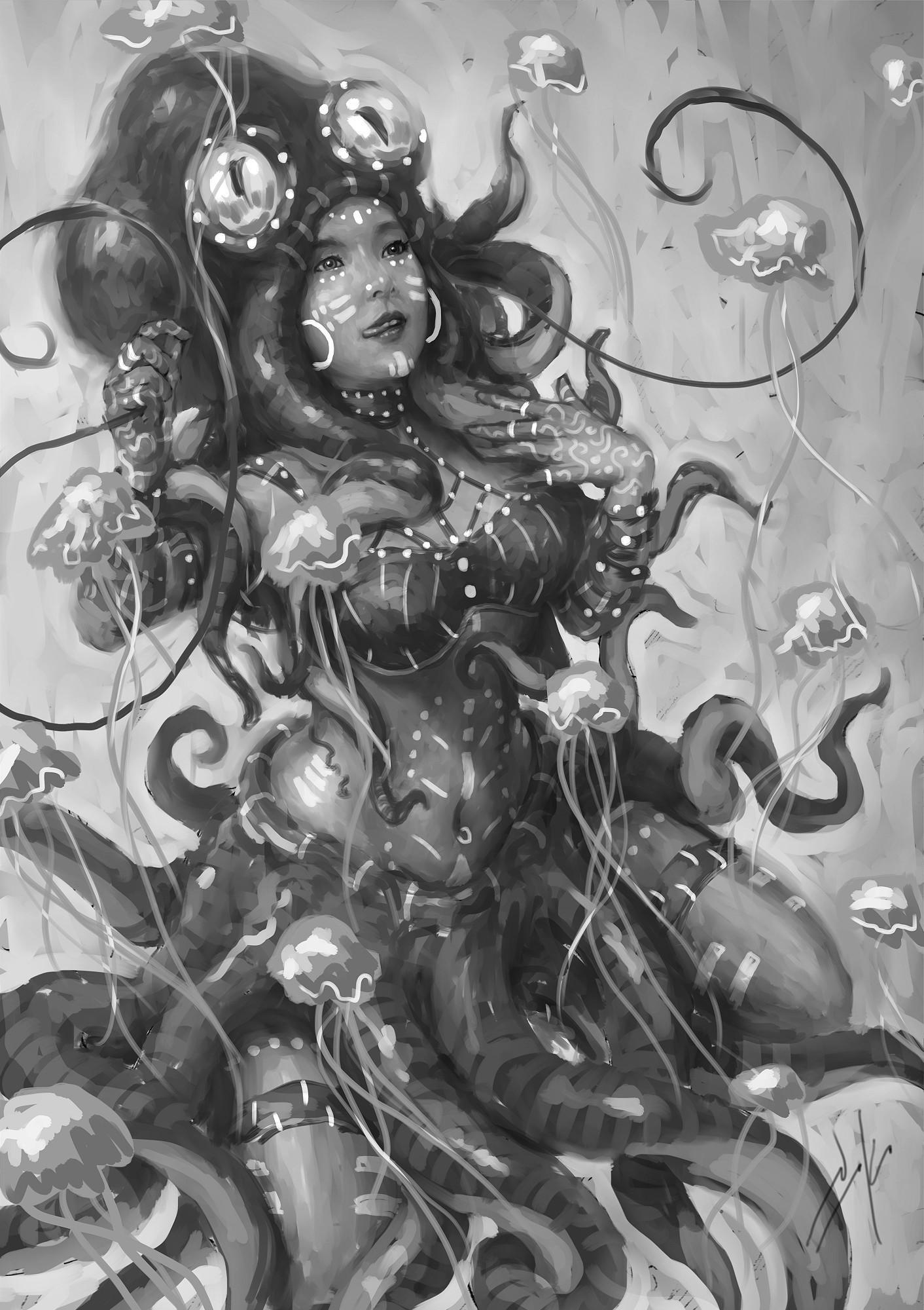 Naka isurita tentaclaire wip