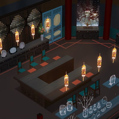 Project VR - Chinese Restaurant