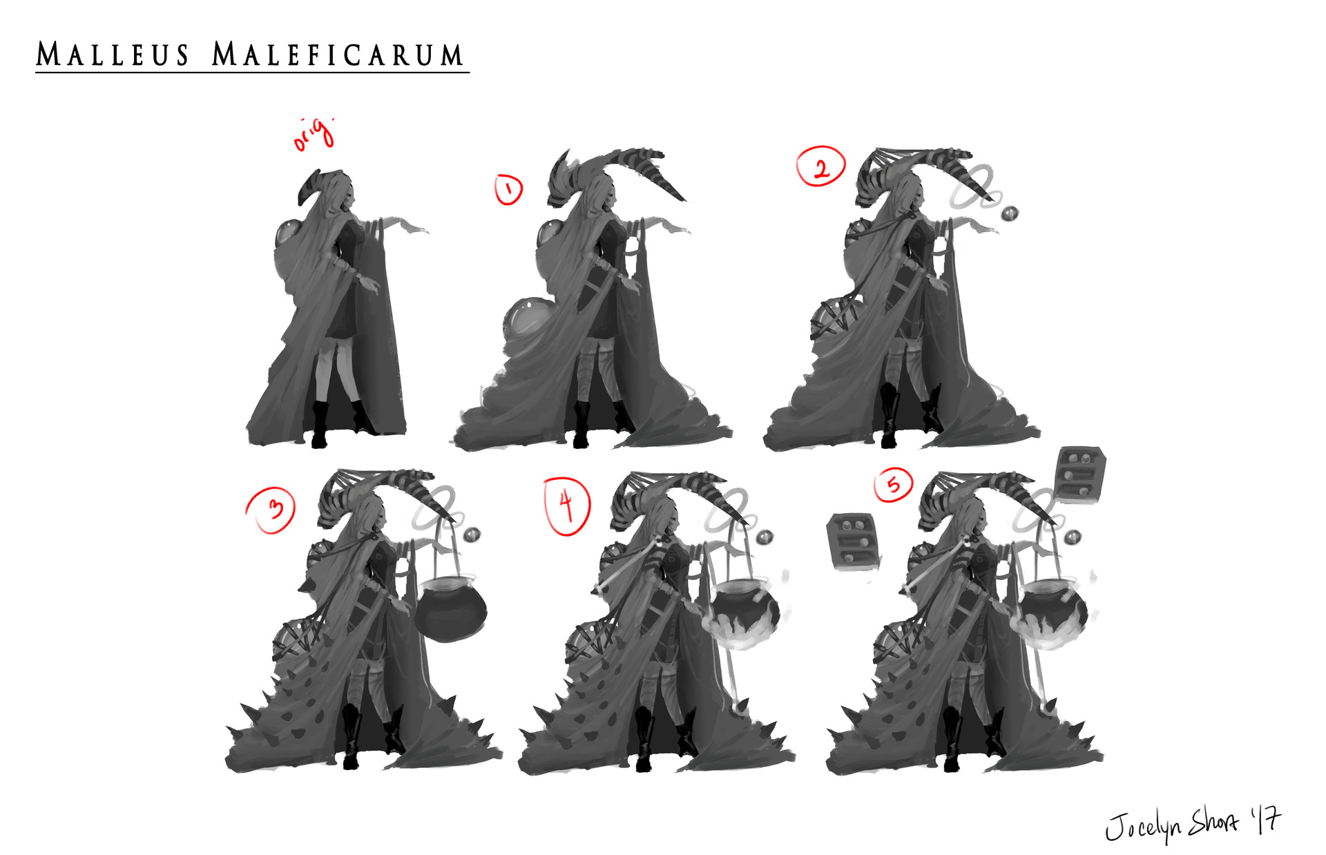 Jocelyn short witch 4 level up