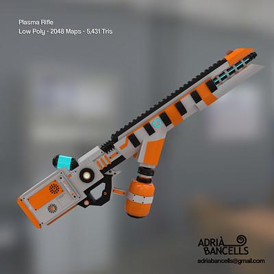 Adria bancells plasma rifle
