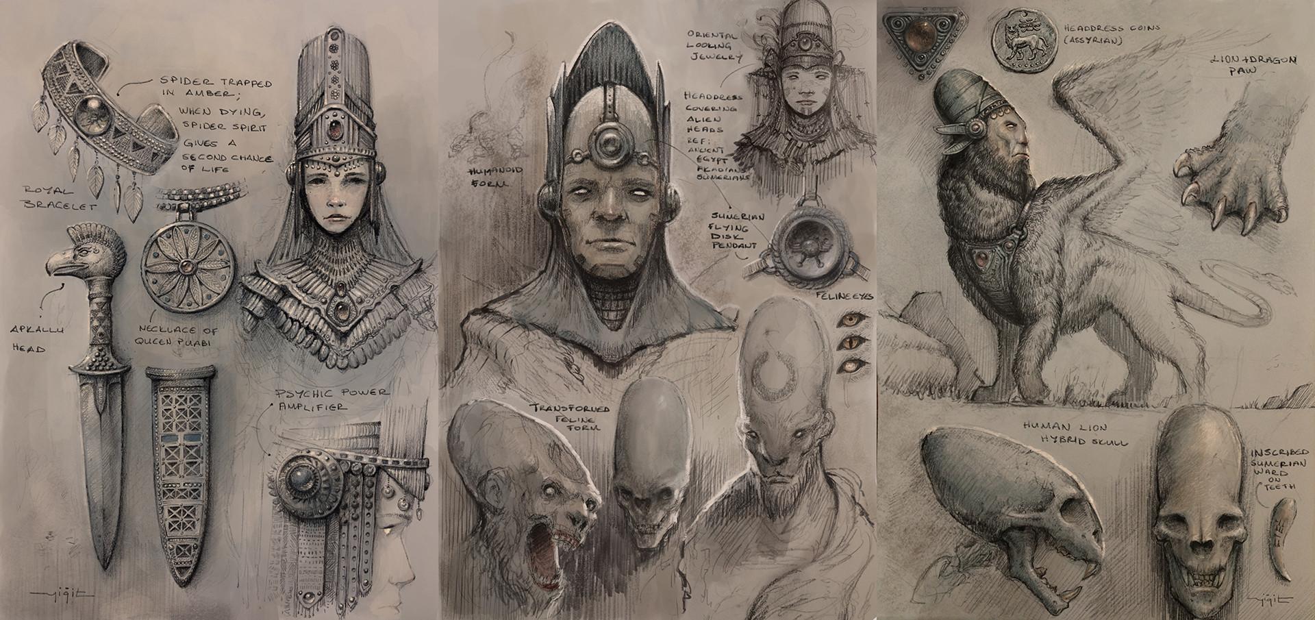 Yigit koroglu character sketches