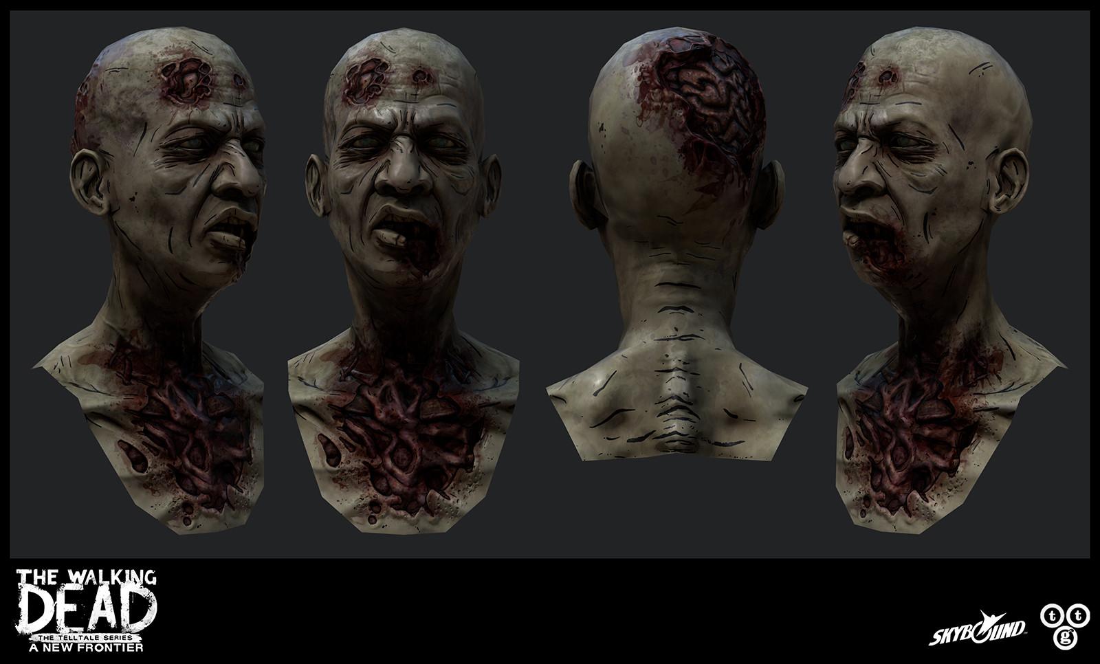 Jay susuico jsusuico wd3 zombiehead1render